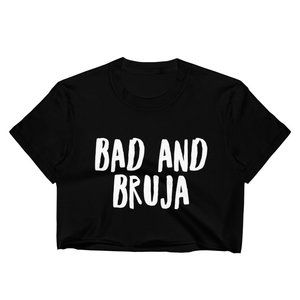 Tops - Bad and Bruja Black Crop Top Size Medium